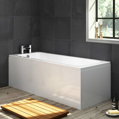AquaSoak 1700 x 700 Single Ended Straight Bath